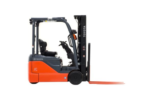 toyota 3 wheel electric forklift