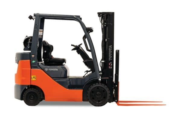 Toyota Internal Combustion Cushion Tire Forklift