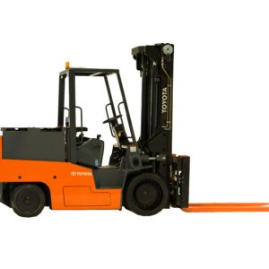 toyota high capacity electric cushion forklift