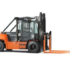 toyota high capacity pneumatic forklift