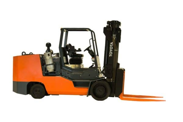 toyota large high capacity ic forklift