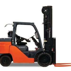 Toyota Large Internal Combustion Cushion Tire Forklift