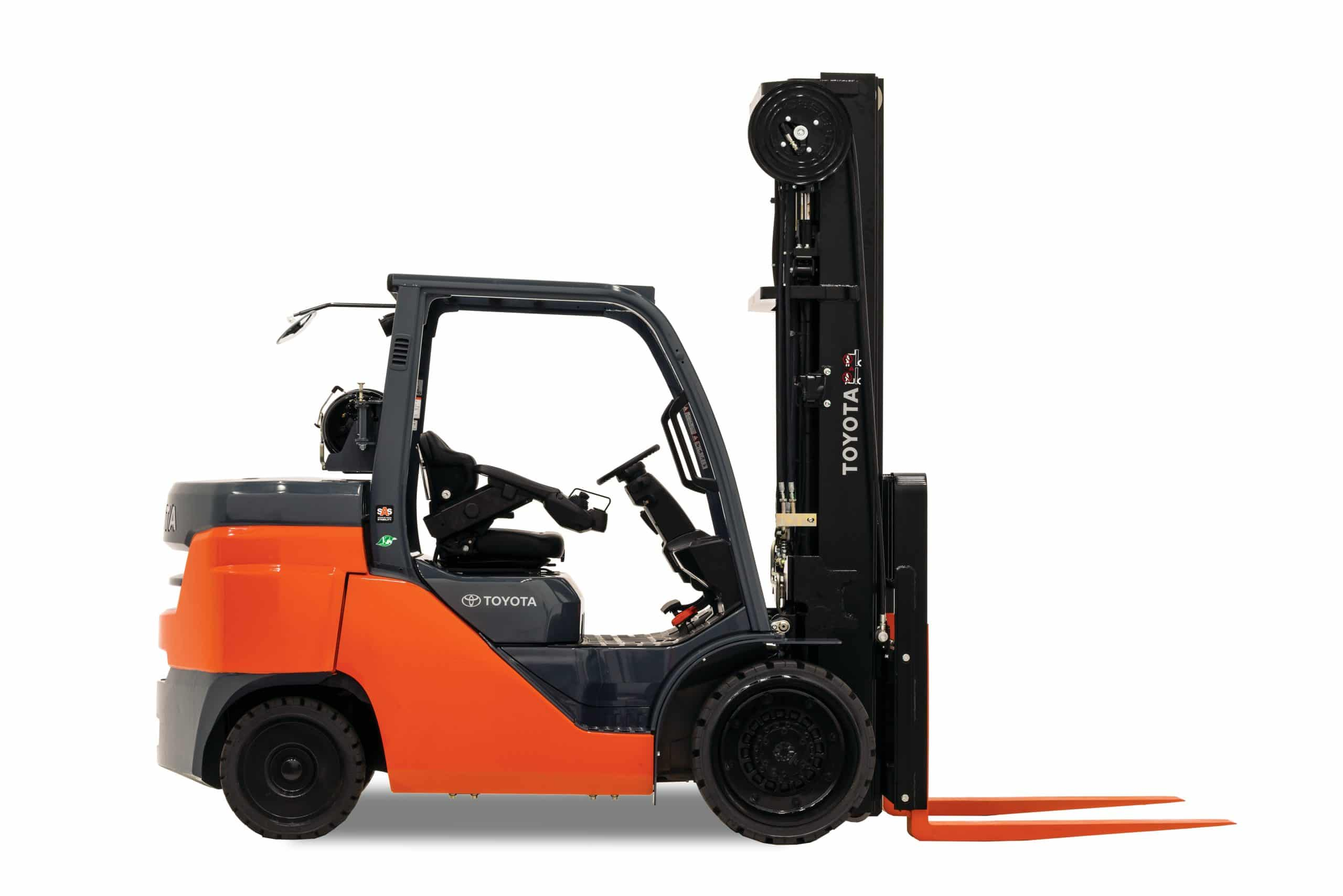 Toyota Large Ic Cushion Forklift Welch Equipment