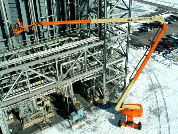 jlg 1250ajp articulating boom lift application