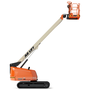 jlg 400sc telescopic crawler boom lift