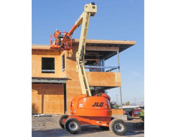 jlg 450aj articulating boom lift application application