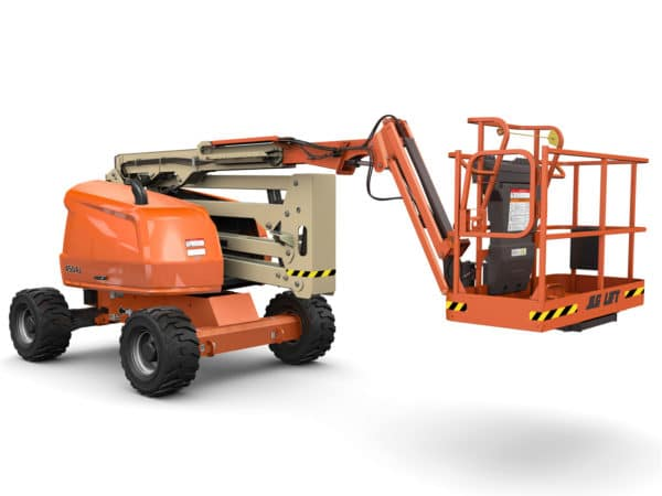 jlg 450aj articulating boom lift application