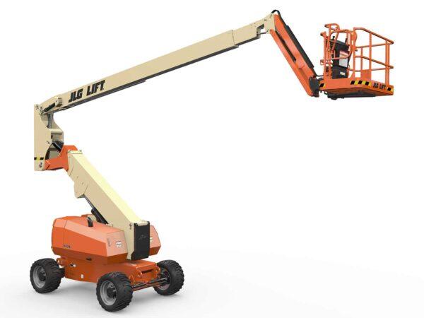 jlg 800aj articulating boom lift