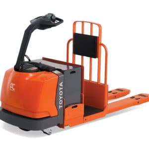 toyota center controlled rider pallet jack