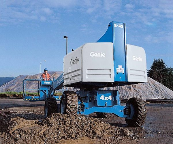 genie s-40 telescopic boom lift application