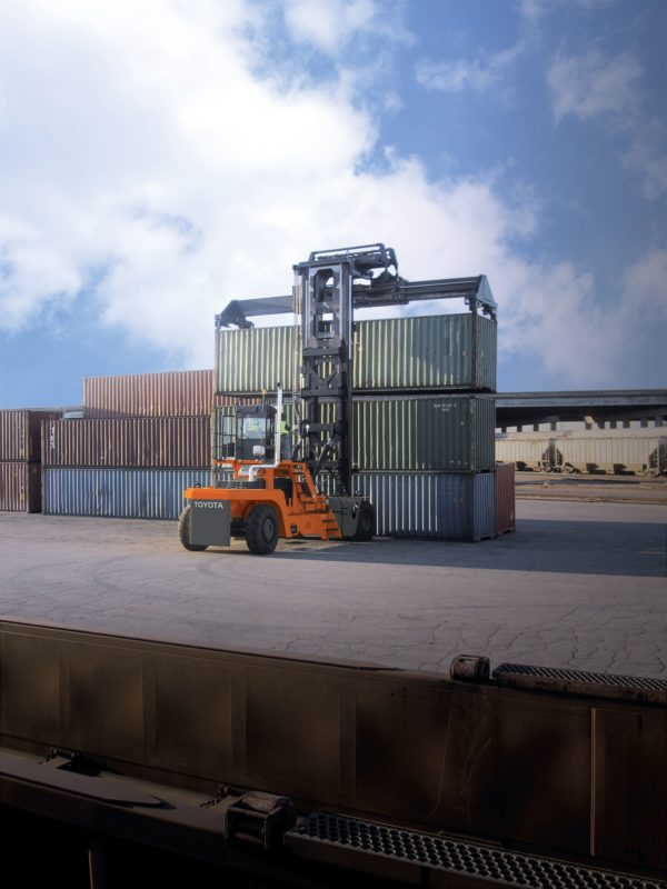 toyota loaded container handler application