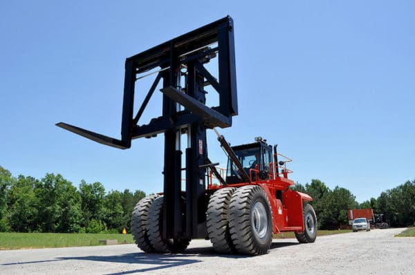 TAYLOR X-1200 LARGE CAPACITY FORKLIFT 1