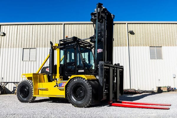 TAYLOR X-450M HEAVY DUTY FORKLIFT 1