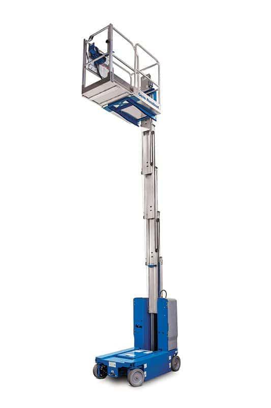 genie runabout gr-20 vertical mast lift