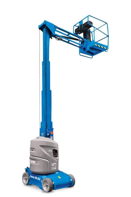 genie gr-26j runabout vertical mast lift