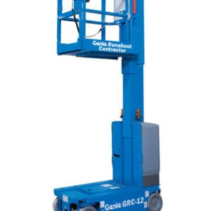 genie runabout contractor grc-12 vertical mast lift