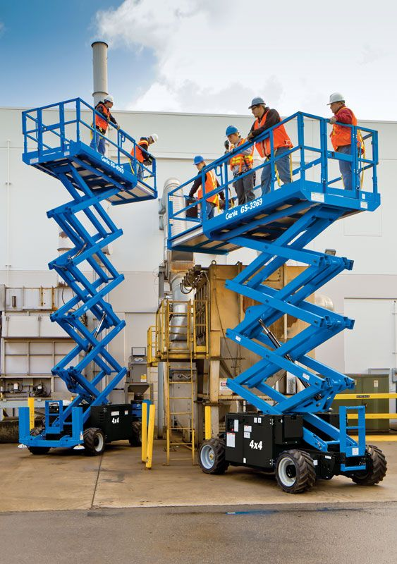 GENIE GS-3369 RT ROUGH TERRAIN SCISSOR LIFT 2