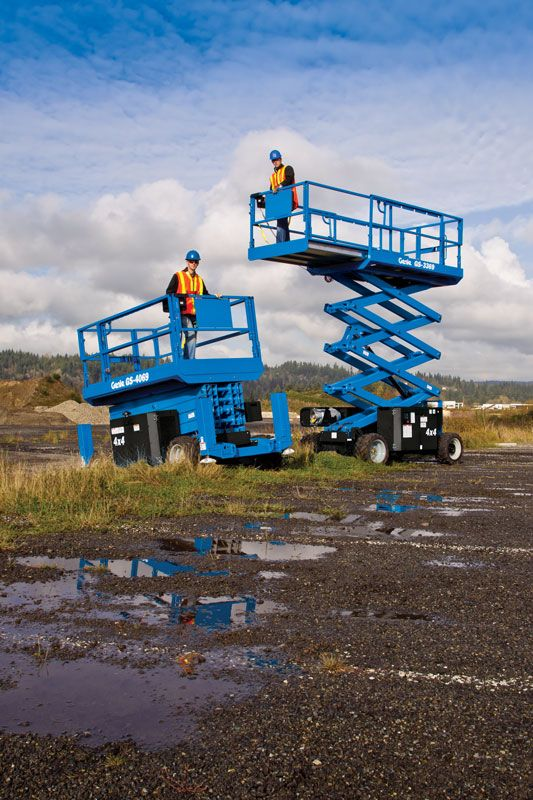GENIE GS-3369 RT ROUGH TERRAIN SCISSOR LIFT 3