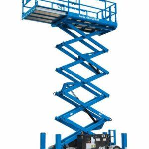 genie 4069 rt rough terrain scissor lift