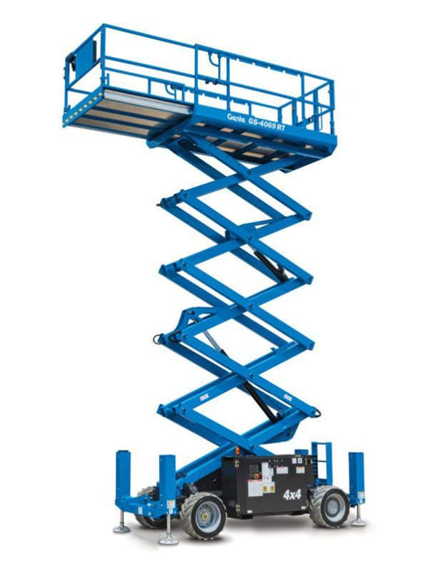 GENIE GS-2669 RT ROUGH TERRAIN SCISSOR LIFT 1