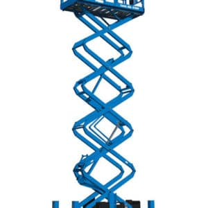 genie gs-5390 rt rough terrain scissor lift