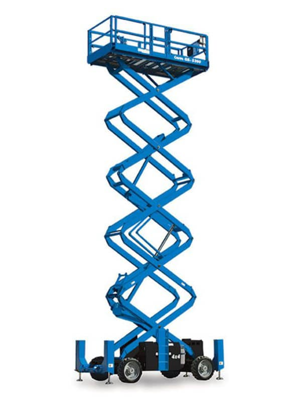 GENIE GS-4390 RT ROUGH TERRAIN SCISSOR LIFT 1