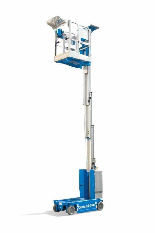 genie quickstock gs-15 vertical mast lift