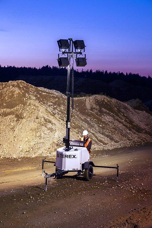 terex rl-4 light tower application
