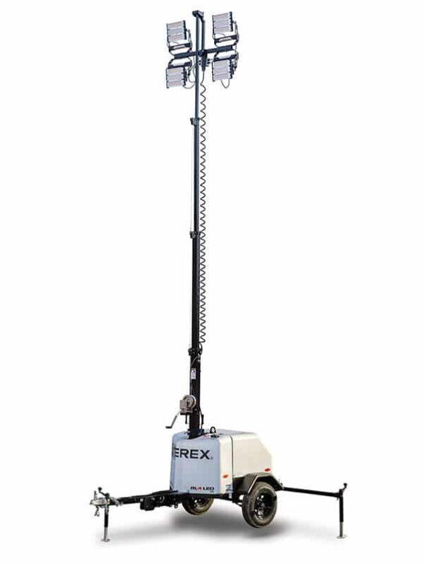 terex rl-4 led gas light tower