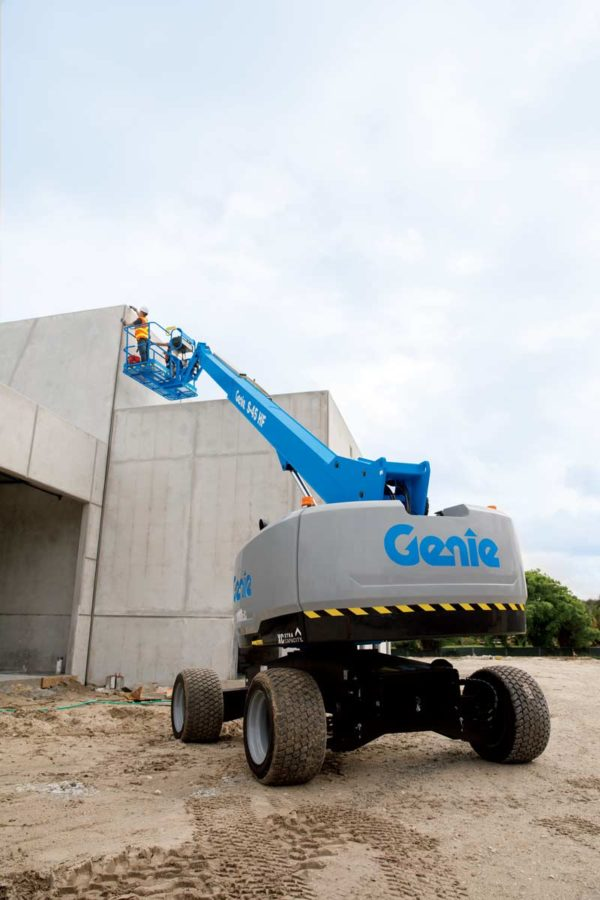 genie s-45 hf telescopic boom lift application