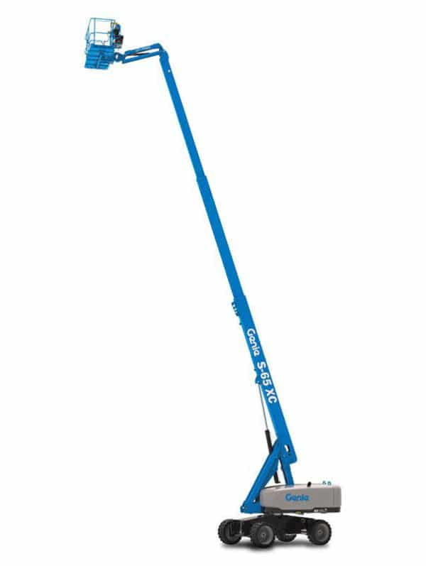 genie s-65 xc telescopic boom lift