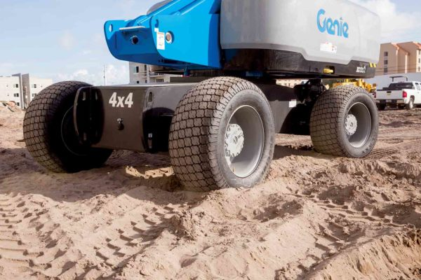 genie s-85 hf telescopic boom lift application