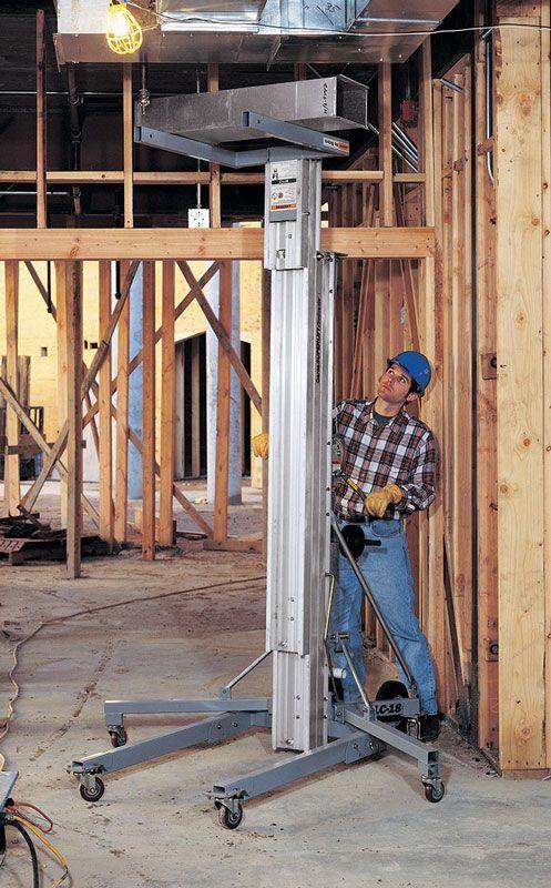 genie superlift contractor application