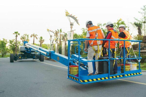 genie sx-105 xc telescopic boom lift application