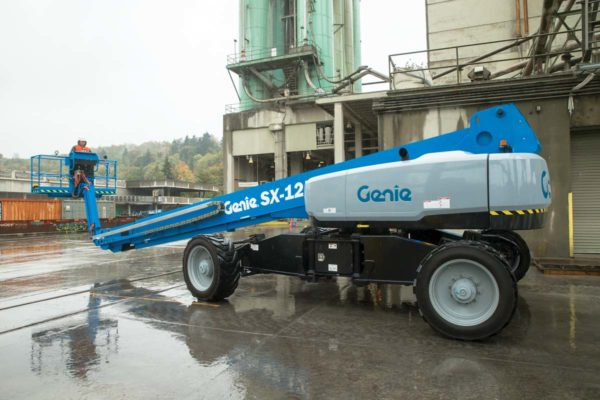 genie sx-125 xc telescopic boom lift application