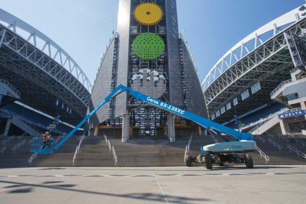 genie sx-135 xc telescopic boom lift application