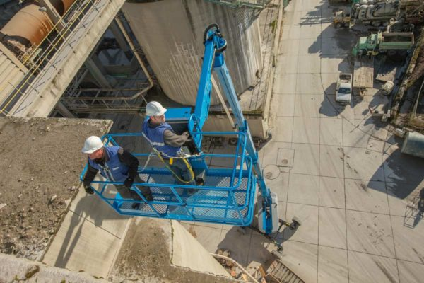genie sx-150 telescopic boom lift application