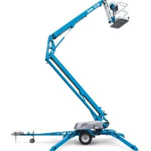 genie tz-50 trailer mounted boom lift