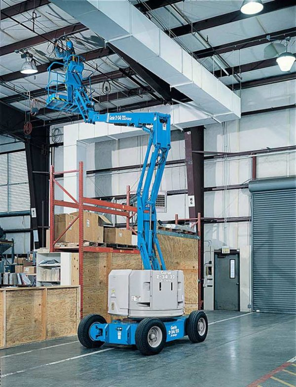genie z-34/22 n articulating boom lift application