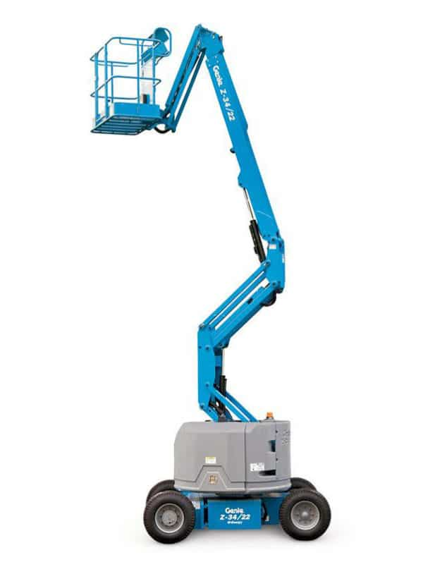 genie z-34/22 dc & bi-energy articulating boom lift