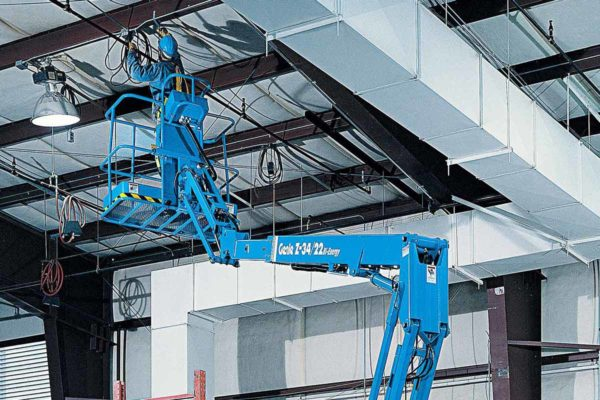 genie z34/22 ic articulating boom lift application