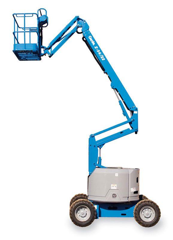 genie z34/22 ic articulating boom lift