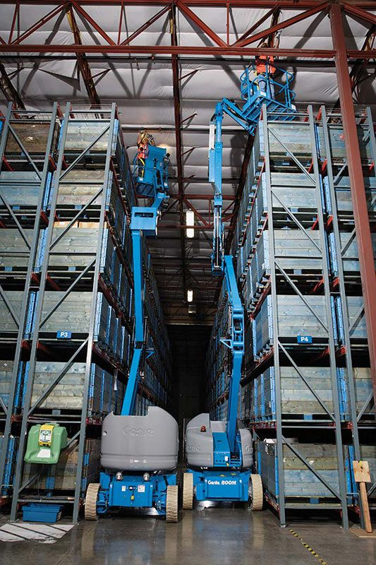 genie z-40/23 n rj articulating boom lift application