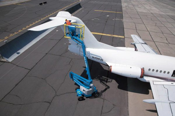genie z-45/25j dc articulating boom lift