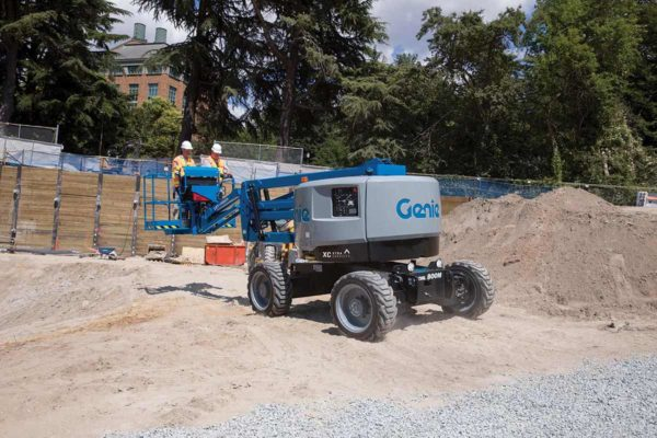 genie z-45 hf articulating boom lift application
