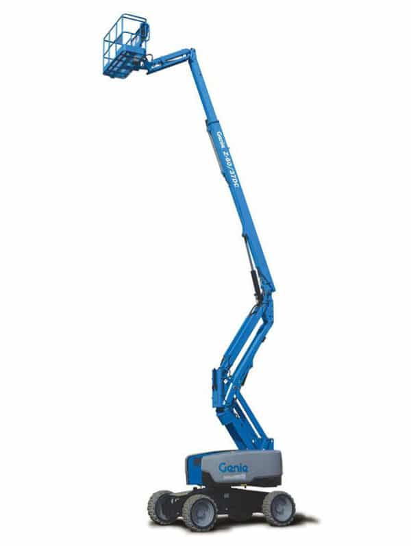 genie z-60/37 dc articulating boom lift