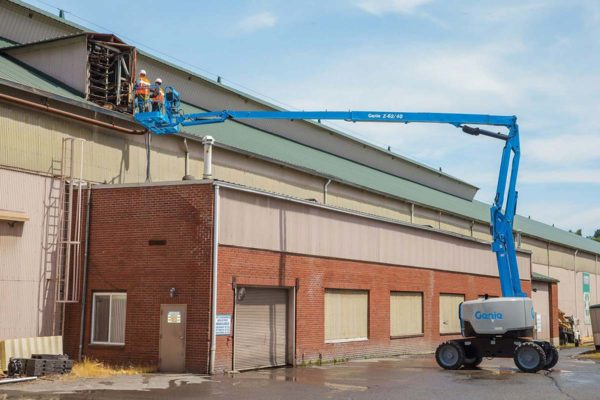 genie z-62/40 articulating boom lift application