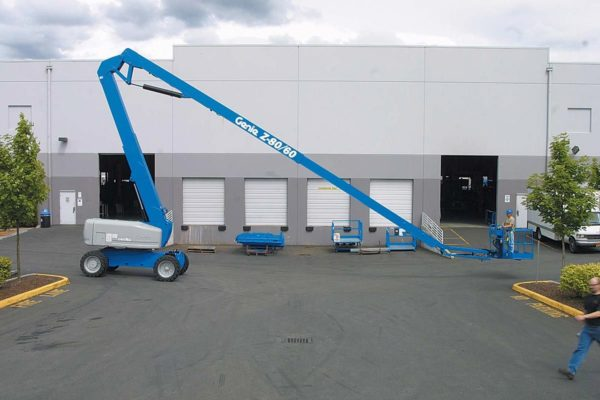 genie z-80/60 articulating boom lift application