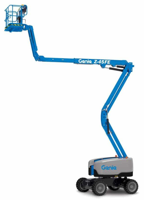 genie z-45 fe articulating boom lift