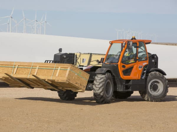 jlg 1732 high capacity telehandler application